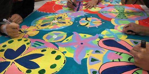 Summer ARTivity 以藝術療癒身心(3/4) - 圓圈繪畫啟動創意團隊