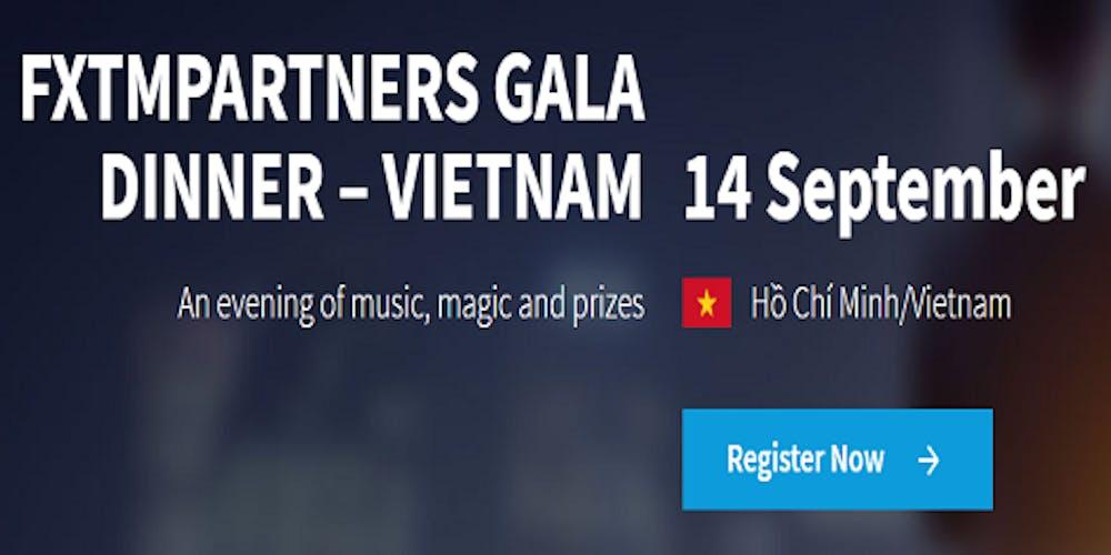 FXTMPARTNERS GALA DINNER – VIETNAM Tickets, Sat, Sep 14