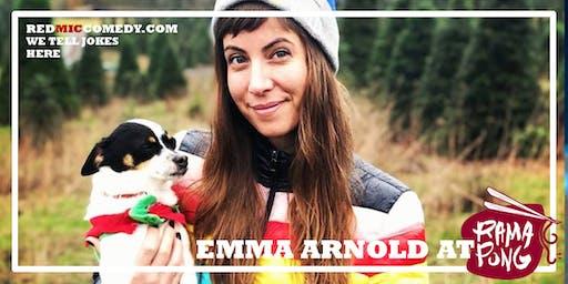 Emma Arnold (Comedy At RamaPong)