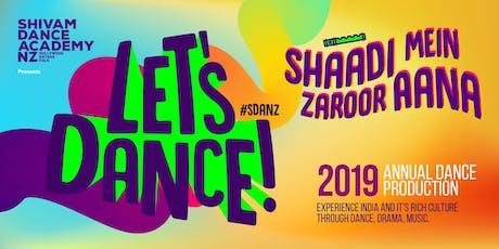 Let's dance 2019 - Shaadi Mein Zaroor Aana tickets
