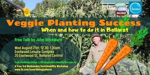 Veggie Planting Success in Ballarat FREE TALK John Ditchburn Smart Living Ballarat