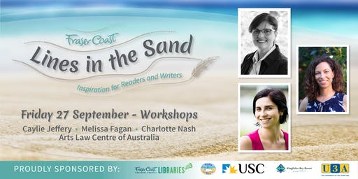 Lines in the Sand - Friday Workshops & Reception - Hervey Bay Library/USC