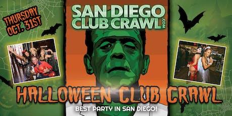 SAN DIEGO HALLOWEEN NIGHT CLUB CRAWL - Thursday, Oct 31st tickets