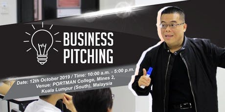 Business Pitching tickets