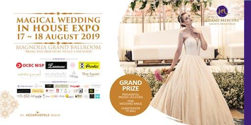 IN HOUSE WEDDING EXPO - MAGICAL LOVE - HOTEL GRAND MERCURE JAKARTA KEMAYORAN