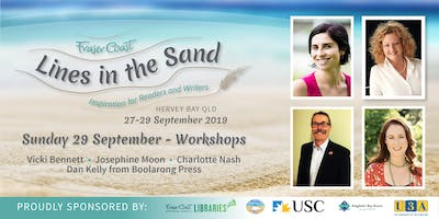 Lines in the Sand - Sunday Workshops - Hervey Bay Library & USC