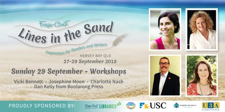 Lines in the Sand - Sunday Workshops - Hervey Bay Library & USC tickets