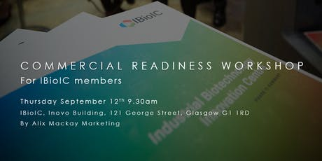 IBioIC Commercial Readiness Workshop tickets
