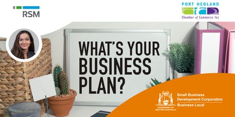 Writing a Business Plan for Small Business (Port Hedland) tickets