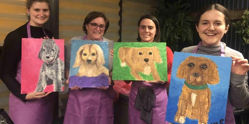 Paint Your Pup (Dine in)