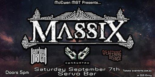 Massix + Carbon Black + Cyndustry + Deafening Silence