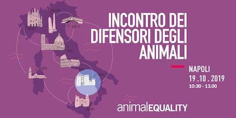 Incontro con Animal Equality Italia - Napoli biglietti