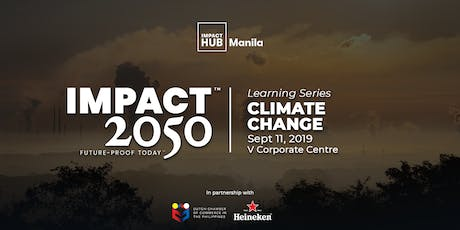 Impact 2050 Learning Sessions: Climate Change tickets
