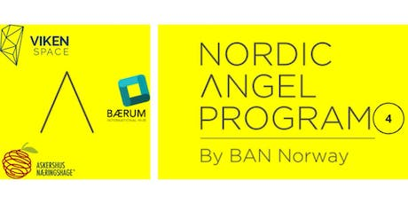 Be Invested by Business Angels: Nordic Angel Program Batch 4 tickets