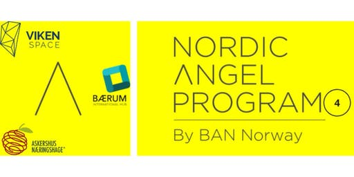 Be Invested by Business Angels: Nordic Angel Program Batch 4