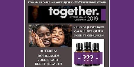 Olieverdiepingsavond Apeldoorn 19 september 2019 tickets
