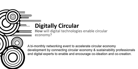 Digitally Circular networking event - August 2019 tickets