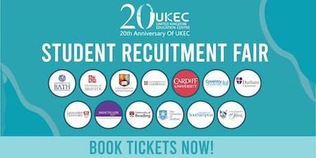 UKEC Student Recruitment Fair - Manchester tickets
