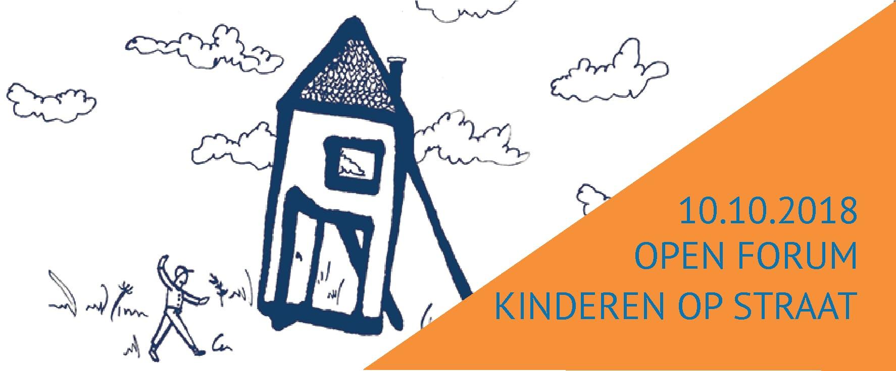 Open Forum kinderen over leven op straat