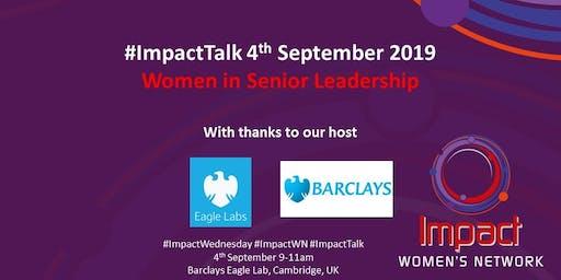Impact Wednesday: 4th September