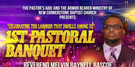 Pastor Melvin Rascoe 1st Pastoral Anniversary Banquet tickets