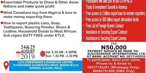 Comprehensive Export Seminar