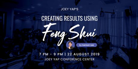 Joey Yap's Feng Shui & Astrology 2020 (Singapore) Tickets