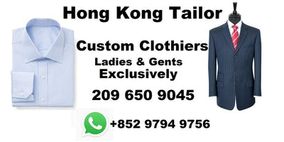 Hong Kong tailor trunk tour Long Island