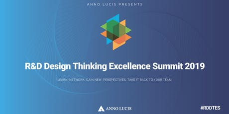 R&D Design Thinking  Excellence Summit 2019 Tickets