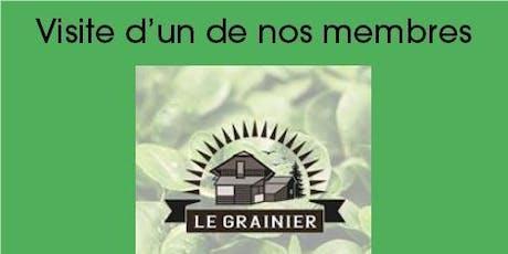 Le Grainier - Visite gratuite d'un de nos membres biglietti