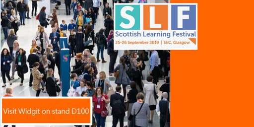 Scottish Learning Festival - Meet Widgit Stand D100!