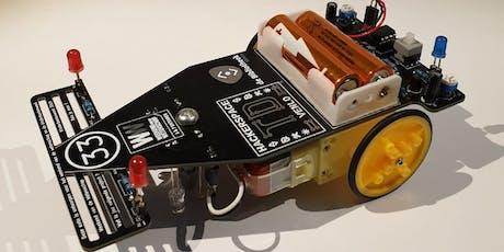 Kids Science en Hackerspace TDVenlo: Bouw je eigen zelfsturende auto! tickets