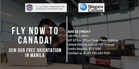 Niagara College Free Immigration Event tickets