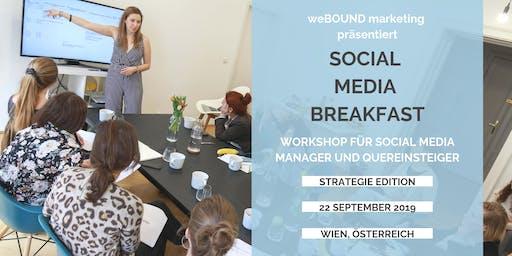 Social Media Breakfast - Erstelle & Optimiere Deine Strategie