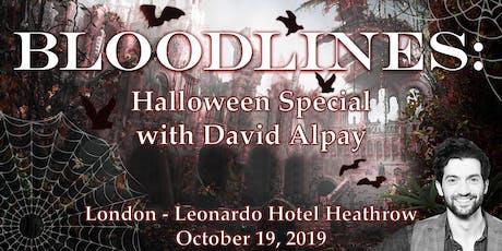 Bloodlines: Halloween Special tickets