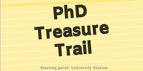 PhD Treasure Trail tickets