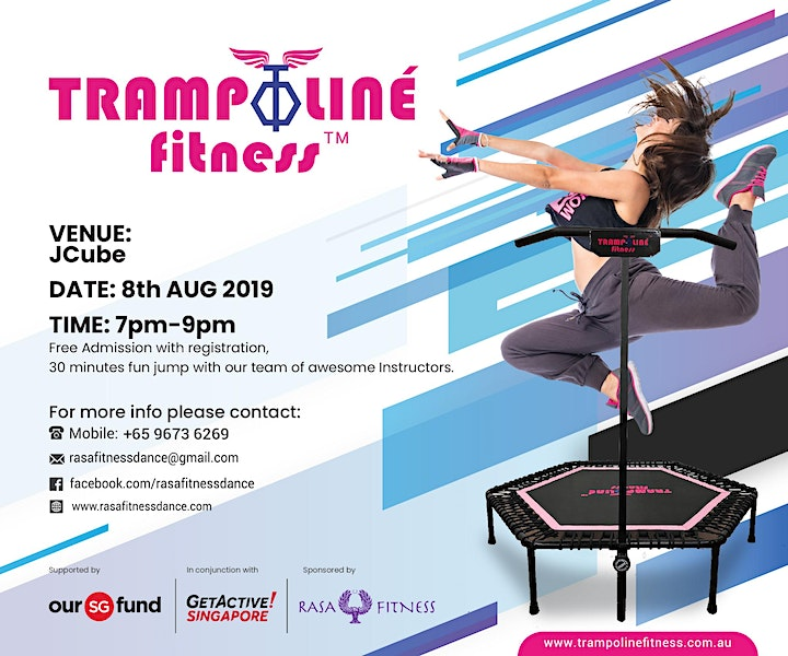 Fun Jump With TrampolinéFitness Singapore at JCube image