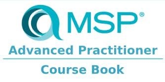 Managing Successful Programmes – MSP Advanced Practitioner 2 Days Training in Edmonton