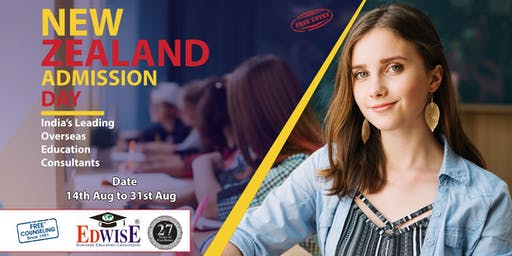New Zealand Admissions Day in Mumbai