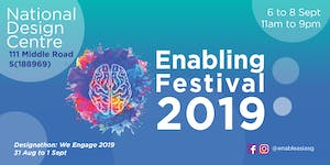 The Enabling Festival 2019 - Talk: Will Writing...
