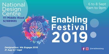 The Enabling Festival 2019 - Talk: Will Writing (Mandarin) tickets