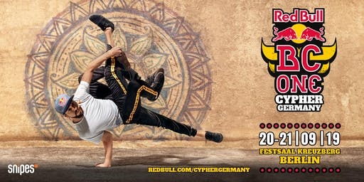 Red Bull BC One Cypher Germany 2019