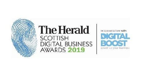 The Herald Scottish Digital Business Awards in association with DigitalBoost  - Entry Fee