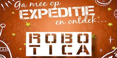 Kids science XL: Expeditie robotica
