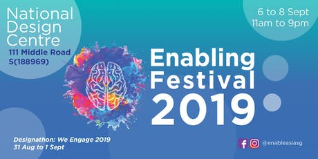 The Enabling Festival 2019 - Talk: Will Writing (English) tickets
