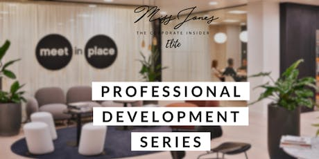 Miss Jones Professional Development Series October tickets