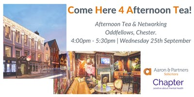 CHAT is BACK! - Come Here 4 Afternoon Tea
