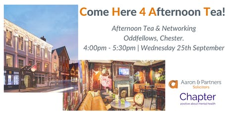CHAT is BACK! - Come Here 4 Afternoon Tea tickets