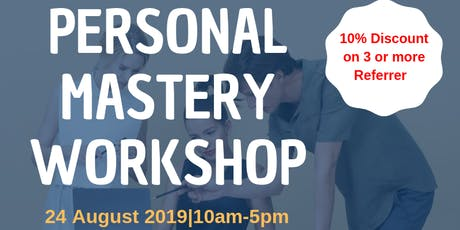 Personal Mastery Certification tickets