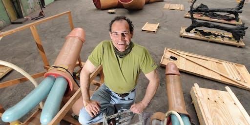 Meet the artist   Joep van Lieshout in zijn studio